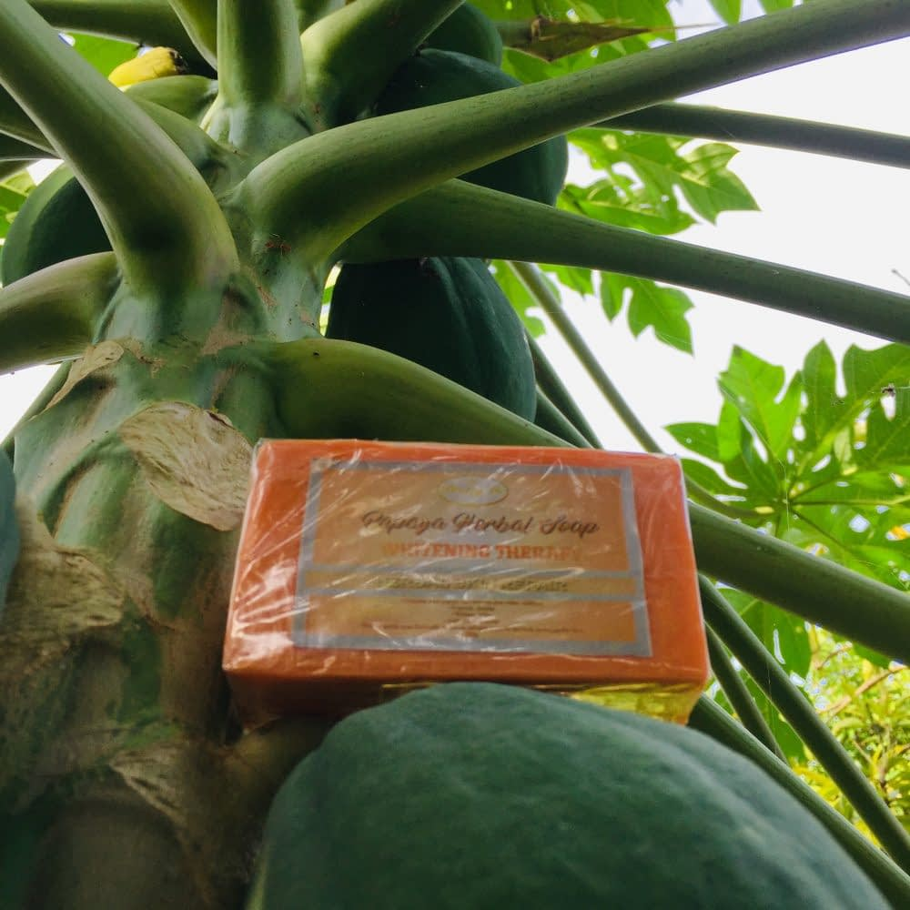 Papaya Whitening Herbal Soap