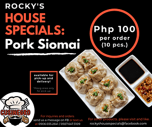 Rocky's House Specials