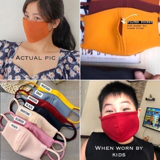 Facemack with Neoprene insert - On The Map Philippines