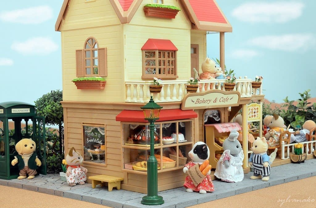 Sylvanian Families Bakery - On The Map Philippines