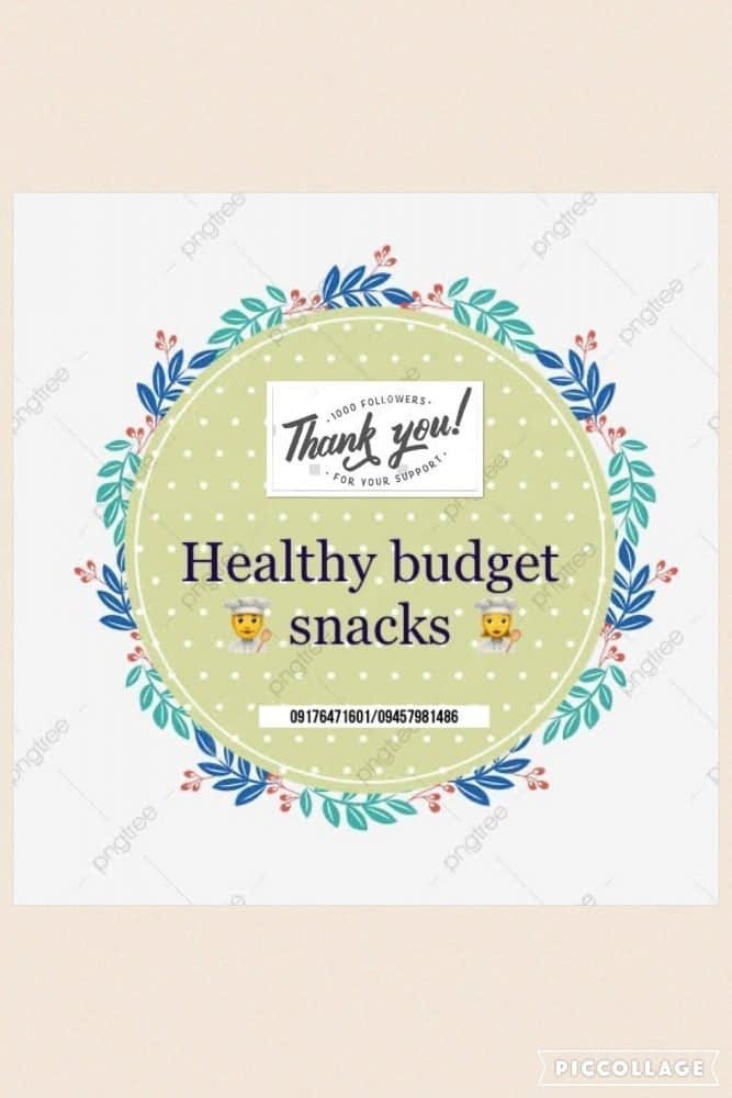 Healthy budget snacks