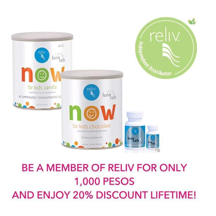 Reliv now for kids