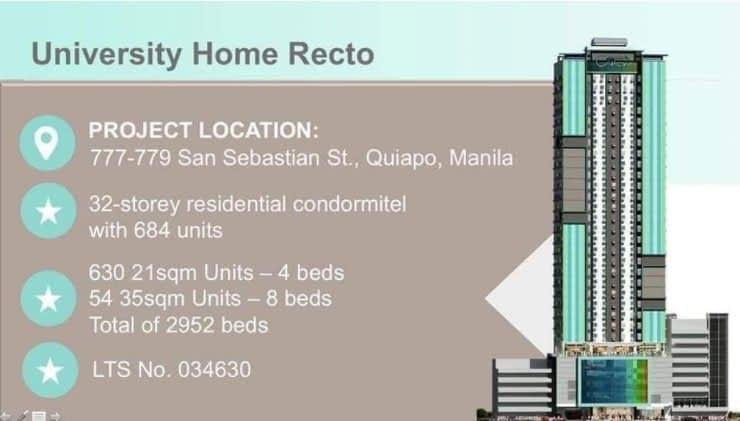 University Home Recto